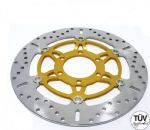 SPRINT ST 1999-04: EBC Brake Discs MD647x 1 Pair. (ABE/TUV) PLUS 12 Free Polished Stainless Disc Bolts!